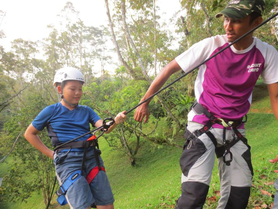 Abseiling 3