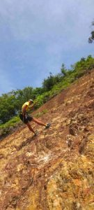 Cliff Abseiling (1)