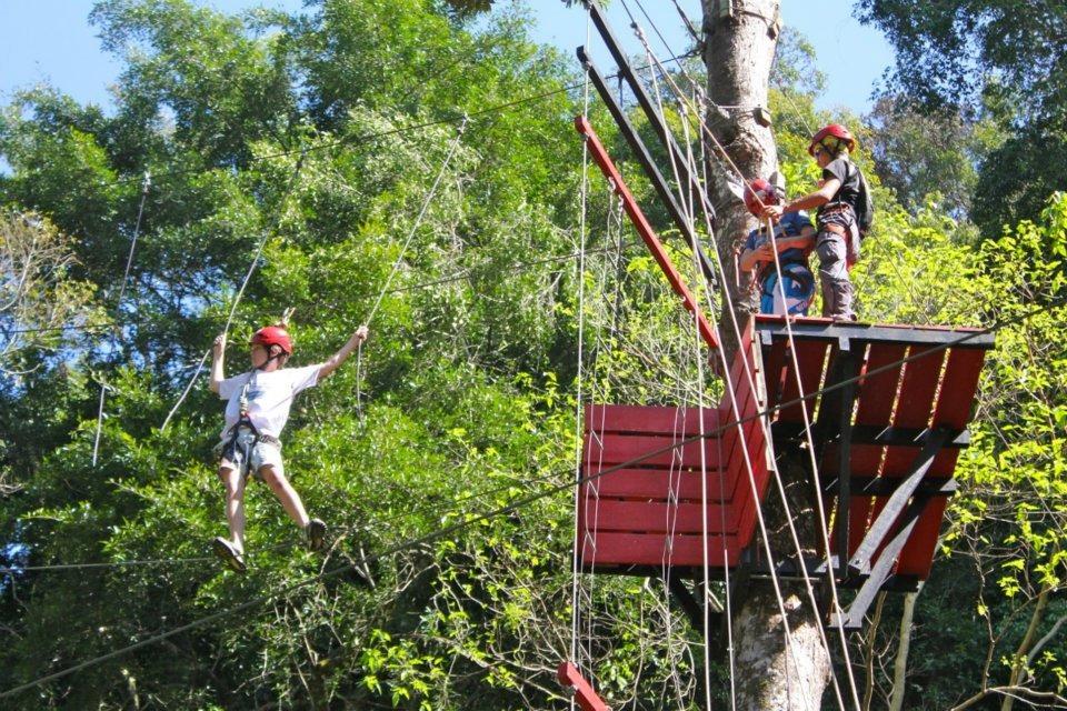 Mountain School High Ropes (1)