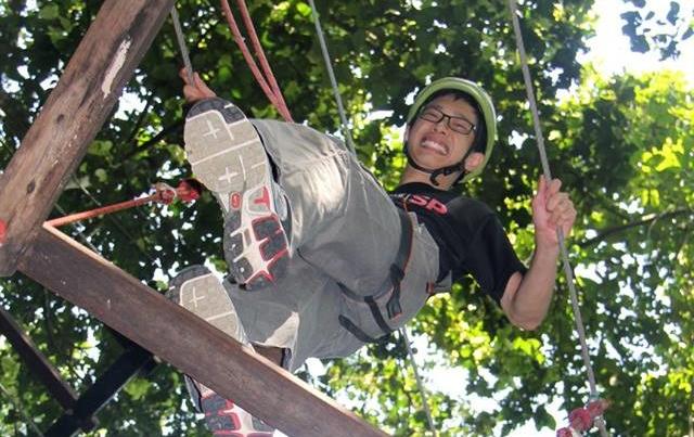 Mountain School High Ropes (3)
