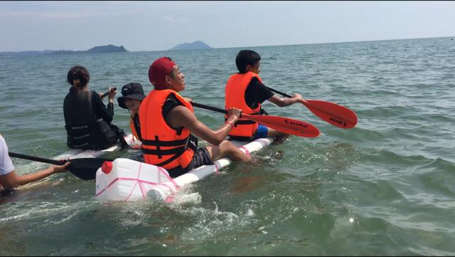 Sea Rafting Challenge