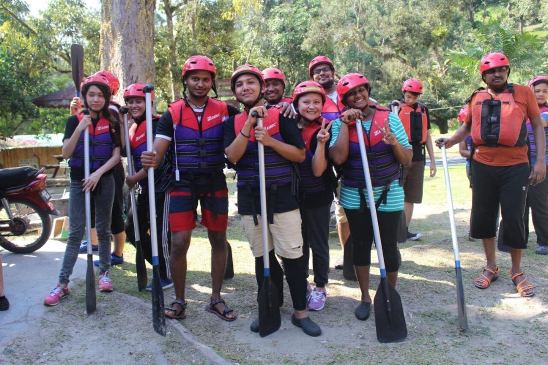 Sg Klah Raft Amazing Race (2)